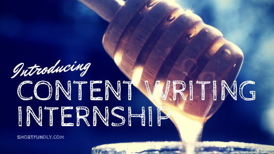 Content Writing Internship 2019 Opening