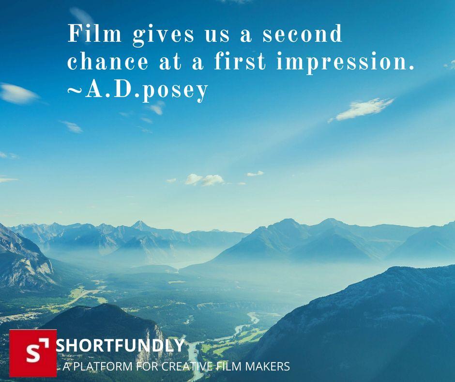 Filmmaking inspiring quotes