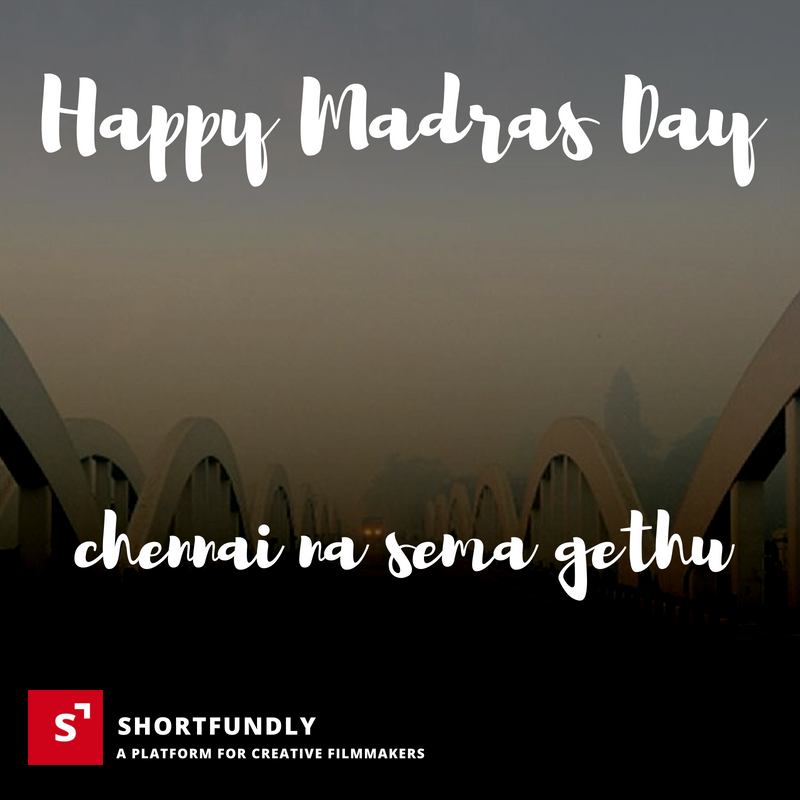 Happy Madras day Posters