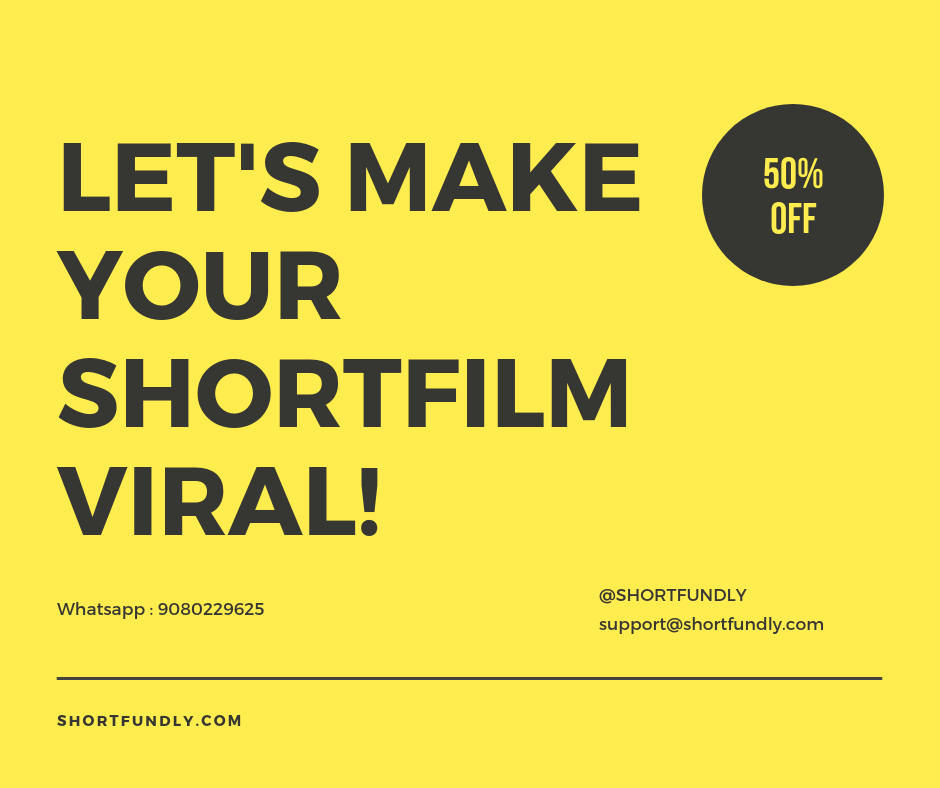 shortfilm poster, teaser, film promotion online packages