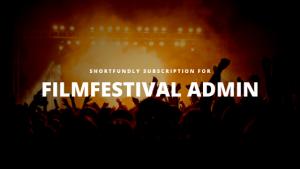 Filmfestival Admin – Subscription