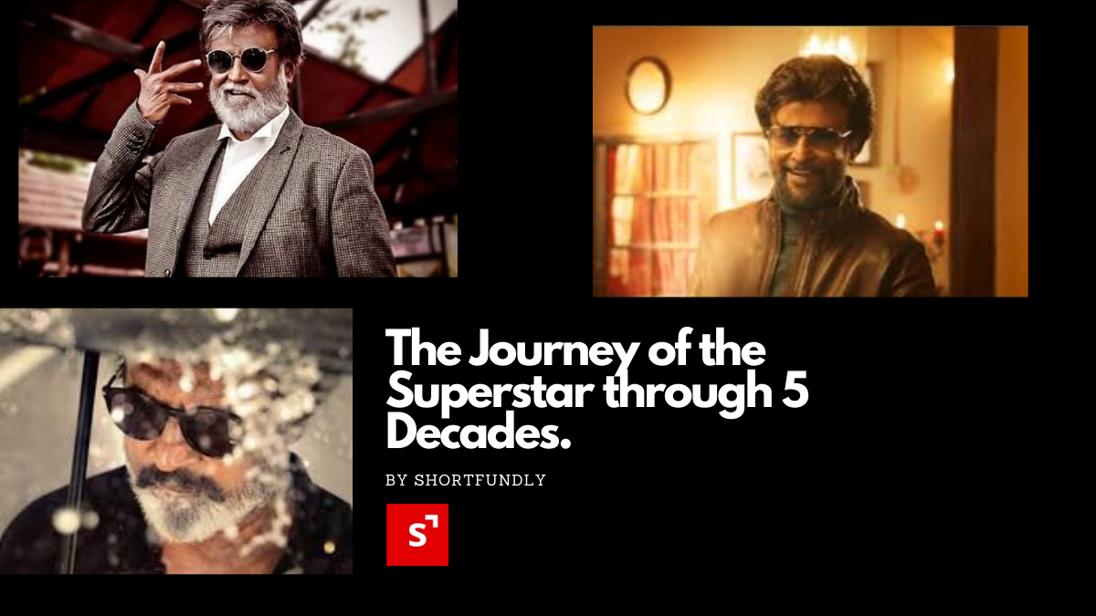 The Journey of the Superstar through 5 Decades.