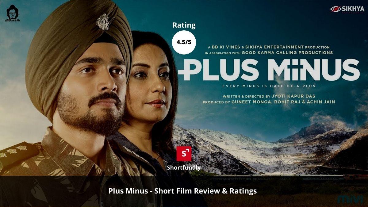 Plus Minus -[Short Film review & rating – 4.5/5]