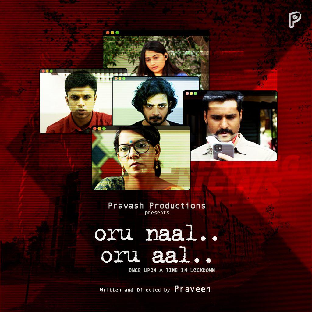 Oru Naal, Oru Aal - Tamil Short Film Poster - 2