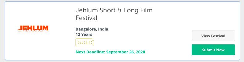 Jehlum Short & Long Film Festival - bengaluru
