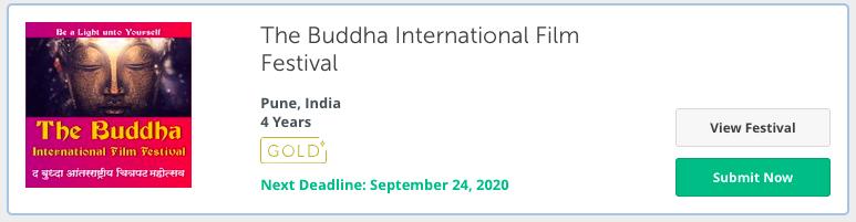 Buddha Film Festival event in 2020 - Pune, india