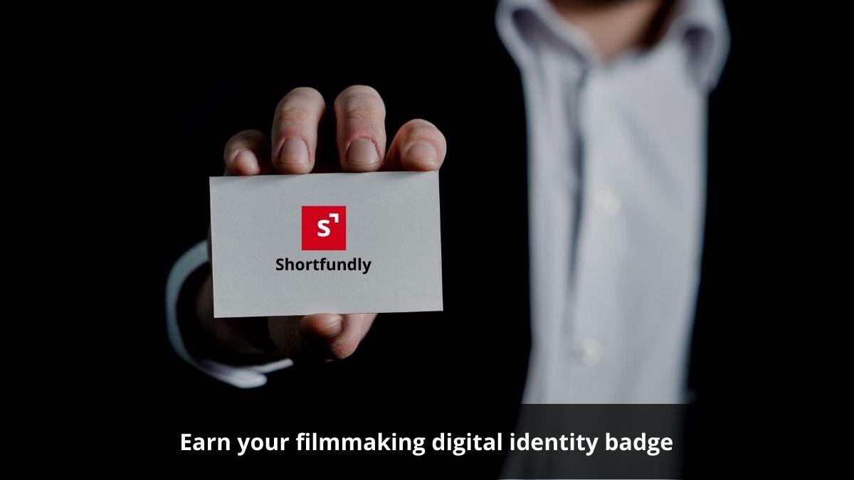 Earn your filmmaking digital identity badge